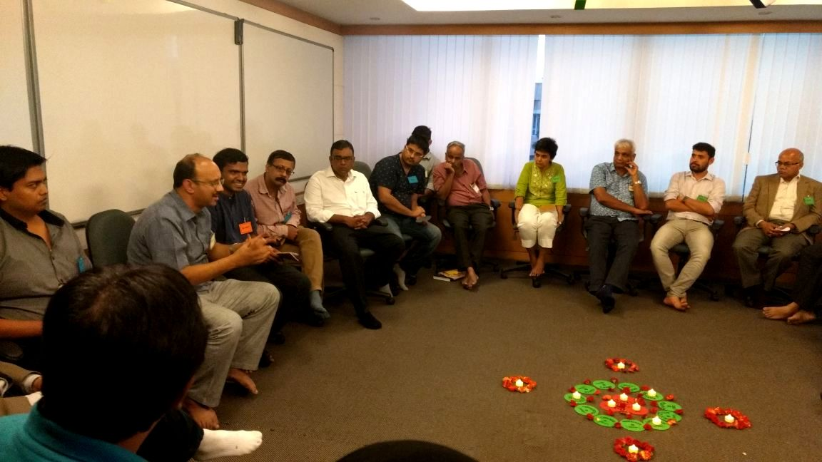 Co-hosting First-Ever Founders Circle At TiE Bangalore