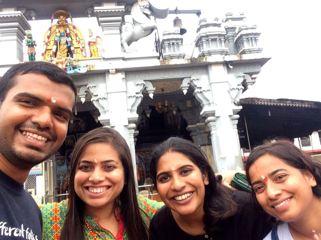 Krishna Temple visited as part of Udupi KYS retreat