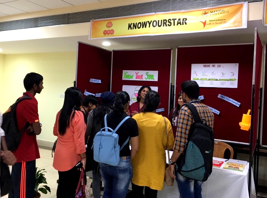 KYS stall at Manipal - Passion To Profession launch